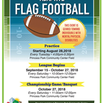 2018 09 CC-PP Adaptive Flag football flyer