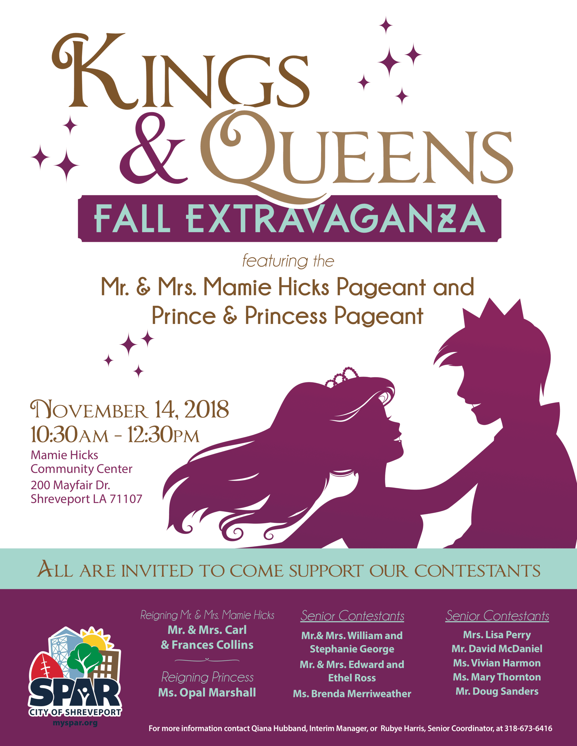 2018 12 CC-MH King and Queen Extravaganza flyer