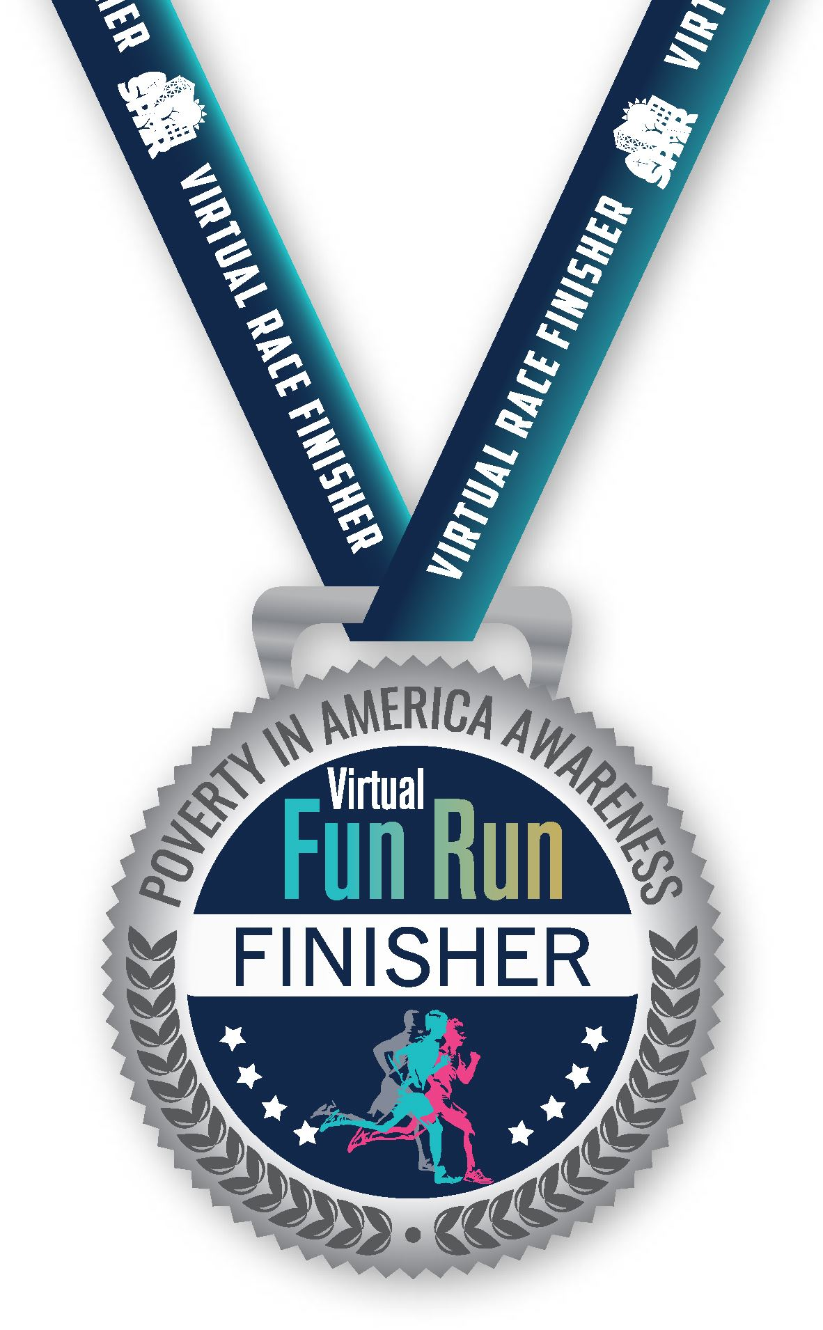 2021 01 Poverty virtual fun run MEDAL crop