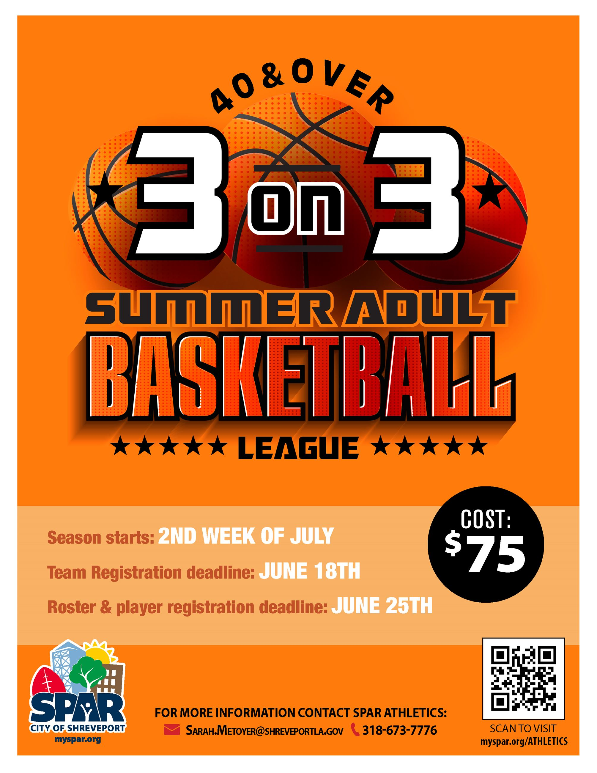 2021 3on3 Summer Adult Basketball