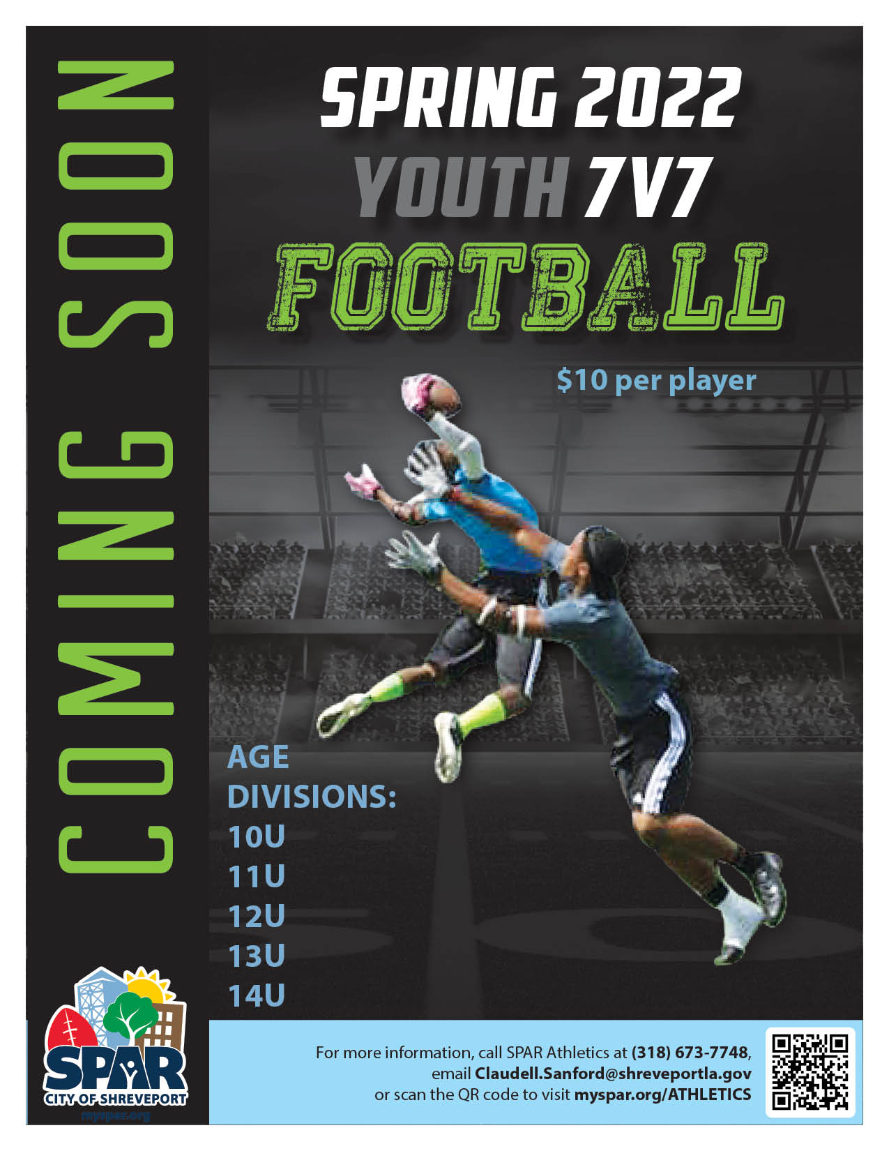 2021 0607 Youth Athletics Spring 22 7on7 Football